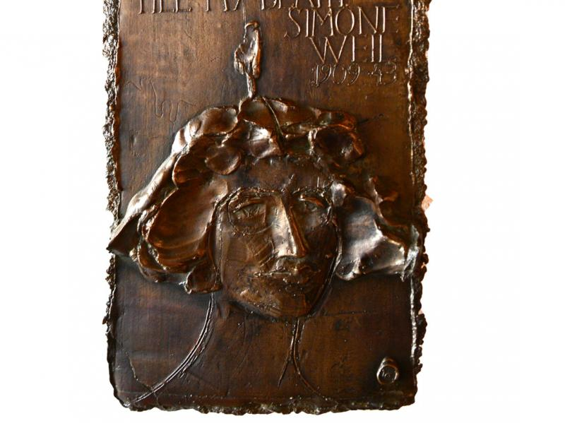 Simone-Weil-Relief