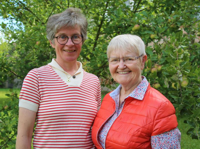 Team: Dr. Bettina Karwath und Ruth Seubert
