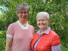Team: Dr. Bettina Karwath und Ruth Seubert (Foto: ISW)